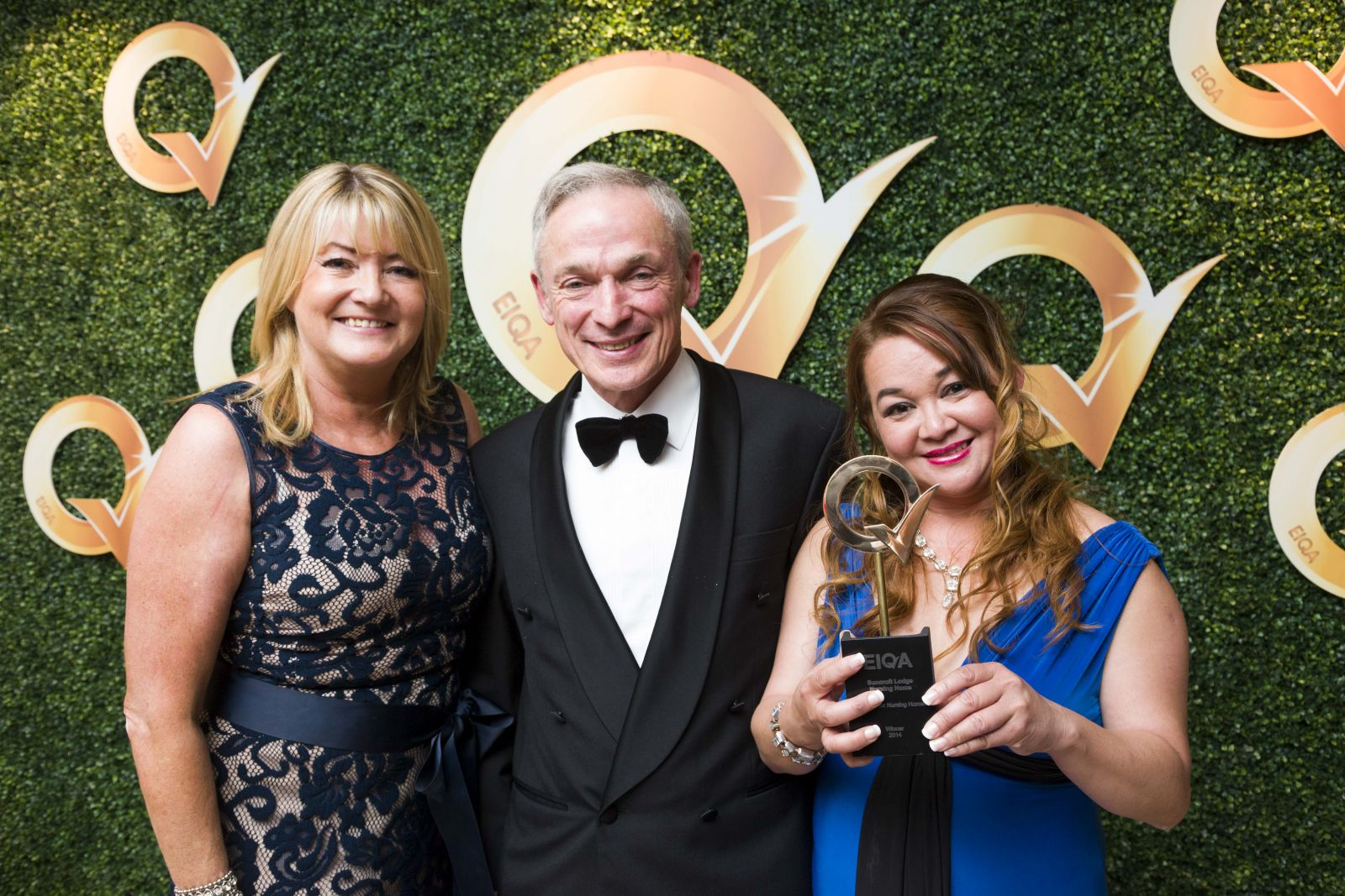Suncroft Lodge Nursing Home has being awarded the Q Mark Irish Nursing Home the Year 2014 at an awards ceremony at the Double Tree Hotel in Dublin
